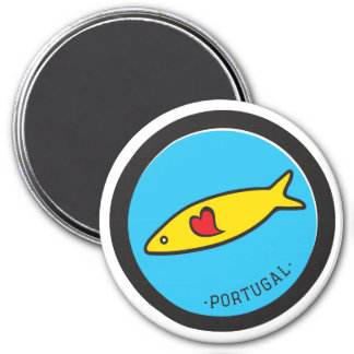 Symbols of Portugal - Sardine Nr. 02 Refrigerator Magnet
