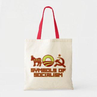 Symbols of Socialism Budget Tote Bag