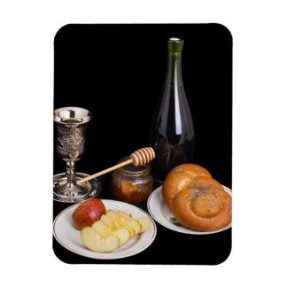 Symbols Of The Jewish New Year Magnet