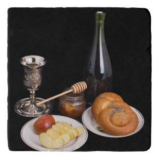 Symbols Of The Jewish New Year Trivet