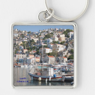 Symi Greece Keychain
