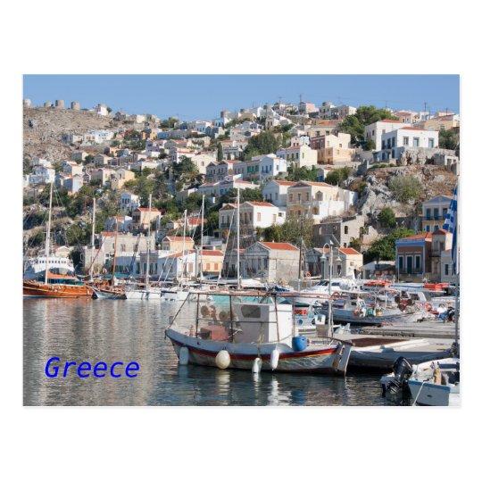 Symi in Greece Postcard