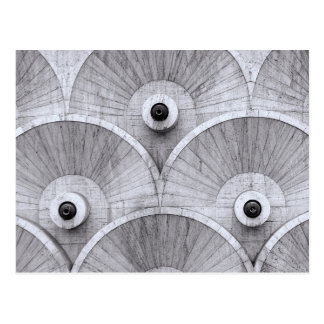 Symmetric patterns in Yerevan, Armenia. Postcard