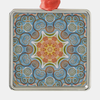 Symmetry design christmas ornament