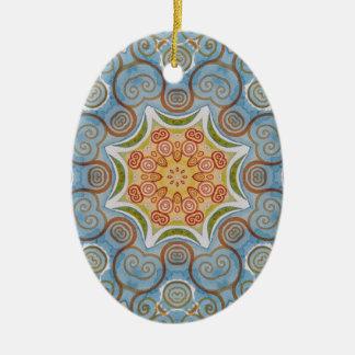 Symmetry design christmas ornament