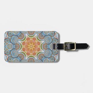 Symmetry design luggage tag