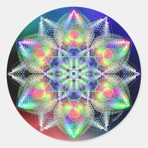 Symmetry of Peace Sticker