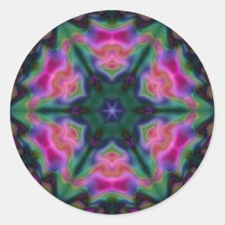 Symmetry Round Sticker