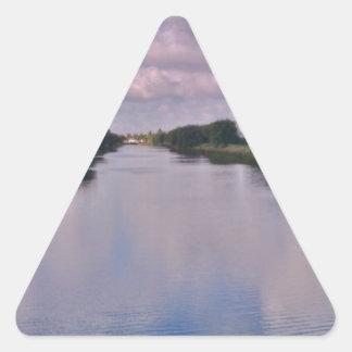 Symmetry Triangle Sticker