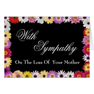 Sympathy Card for Loss of Mother
