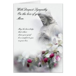Loss of mom sympathy cards invitations zazzle sympathy card loss of mom altavistaventures Gallery