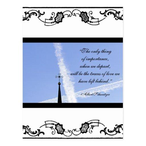 Sympathy Card Post Cards