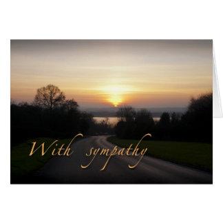 Sympathy card (small)