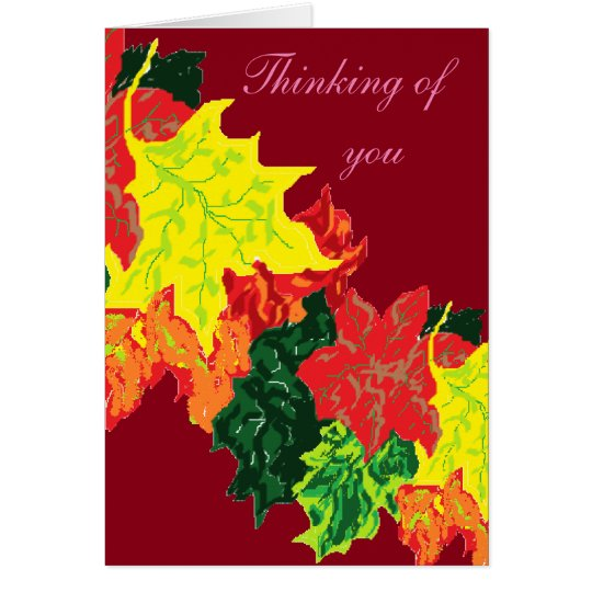 Sympathy  Card/Thinking of You Card