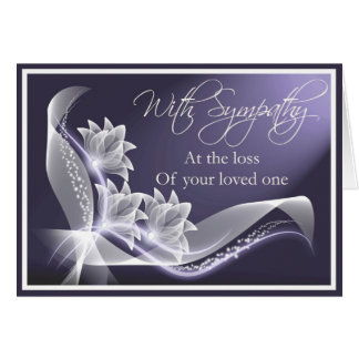 Sympathy - Loss of Loved One Card