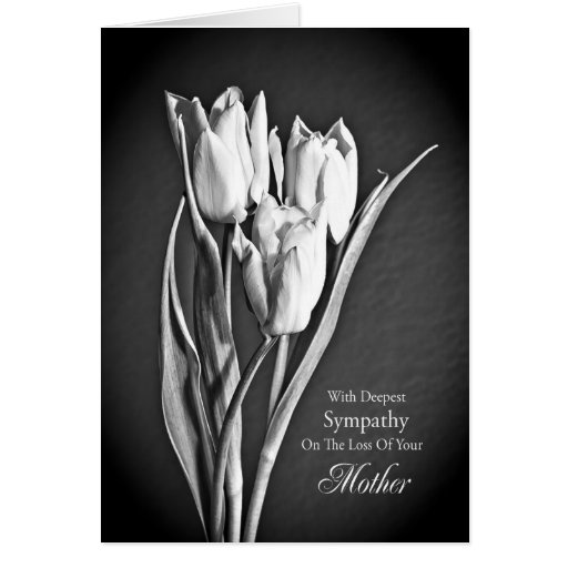 Sympathy on loss of mother. cards