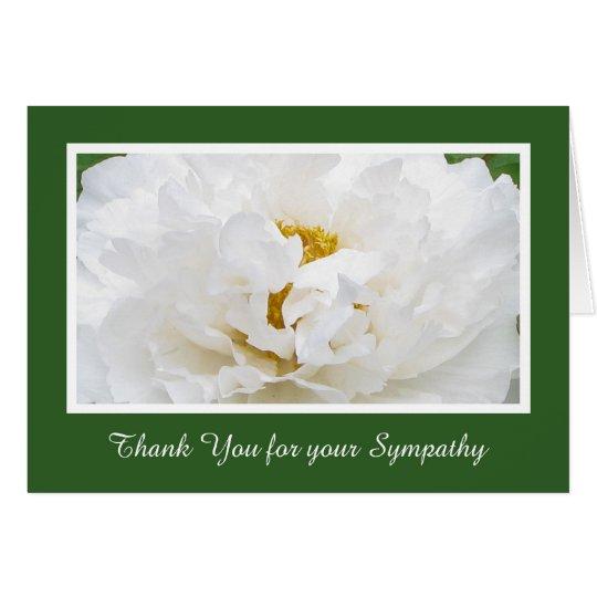 Sympathy Thank You Card