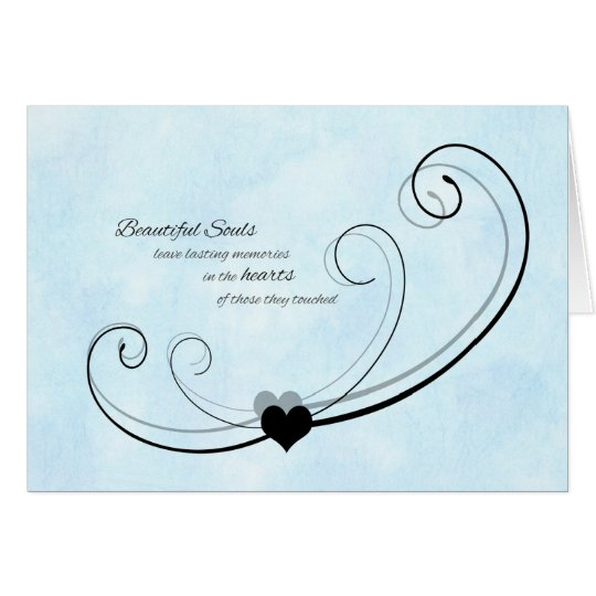 Sympathy Thank You Card / Beautiful Souls
