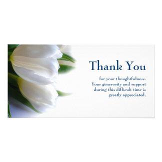 Sympathy Thank You Custom Photo Card