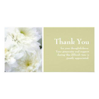 Sympathy Thank You Photo Cards