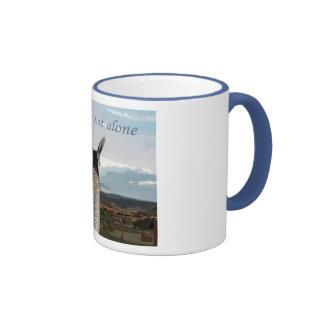 Sympathy: You Are Not Alone Llama Ringer Mug