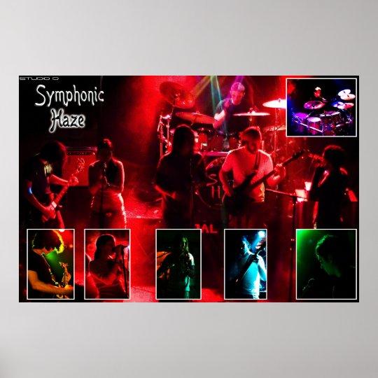 Symphonic Haze Poster