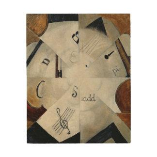 Symphony, 1915 wood canvas