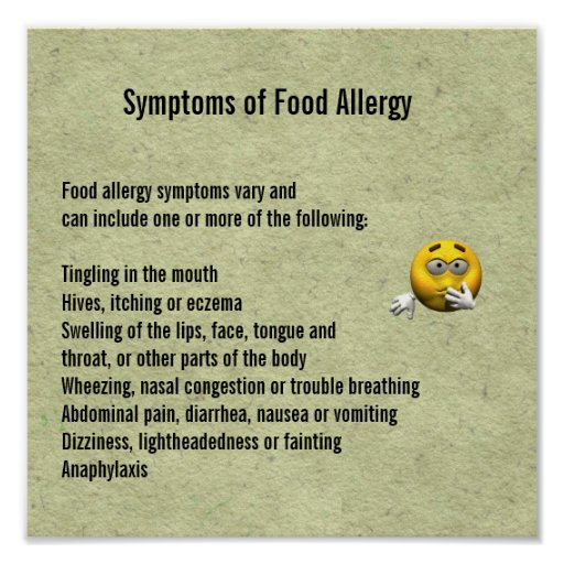 R S Food Allergy