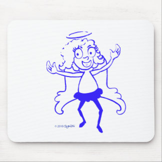 SymTell Blue Nice Dancer Mouse Pad