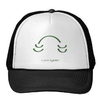 SymTell Green Amused Symbol Hats