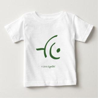 SymTell Green Apprehensive Symbol Baby T-Shirt