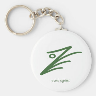 SymTell Green Assertive Symbol Key Chains