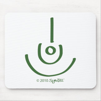 SymTell Green Blessed Symbol Mousepad