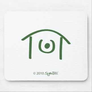SymTell Green Humiliated Symbol Mouse Pad