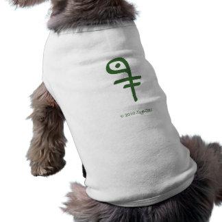 SymTell Green Intelligent Symbol Pet Shirt