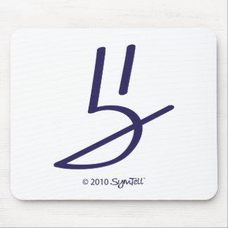 Symtell Purple Honest Symbol Mousepad