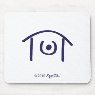 SYmtell Purple Humiliated Symbol Mouse Pads