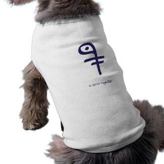 SymTell Purple Intelligent Symbol Pet T Shirt