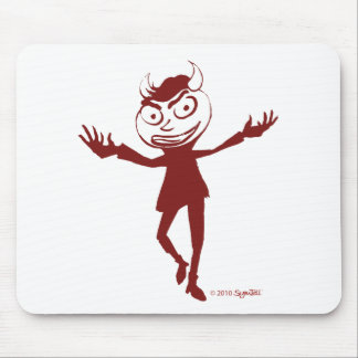 SymTell Red Naughty Dancer Mouse Pad
