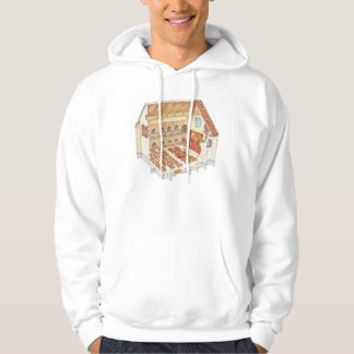 Synagogue. 15th century. Central Europe Hoodie
