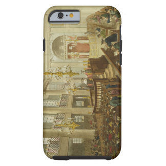 Synagogue, Dukes Place, Houndsditch, from Ackerman Tough iPhone 6 Case