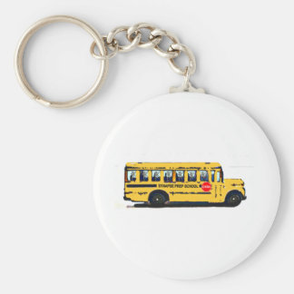 Synapse Prep School Basic Round Button Key Ring