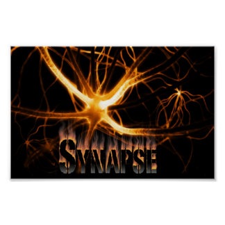 Synapse red fire poster