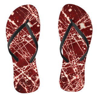 SYNAPSES (an abstract art design) ~ Flip Flops