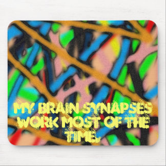 Synapses Mouse Pad
