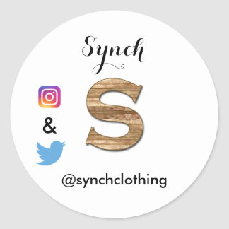 Synch Branded Stickers