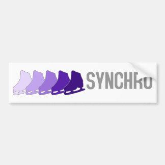 Synchro Skates Bumper Sticker