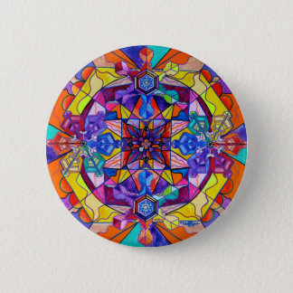 """Synchronicity"" 2¼ Inch Button"