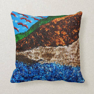 """Synchronicity 3"" pillow"
