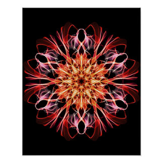 Synchronicity Weaving & Spirit of Life Unfolding Poster